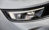 5 Vauxhall Mokka 2021 UK first drive review headlights
