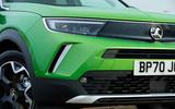 5 Vauxhall Mokka e 2021 UK first drive review visor
