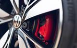 5 Volkswagen Golf GTD 2021 UK first drive review brake calipers
