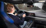 Volkswagen Golf R 2020 first drive review - Greg Kable driving