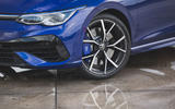 5 Volkswagen Golf R performance pack 2021 UK FD alloy wheels