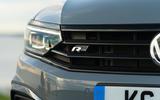Volkswagen passat Estate R Line 2019 UK review - front badge