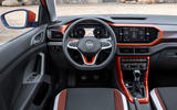 Volkswagen T-Cross 2019 first drive review - dashboard