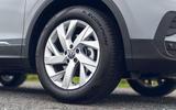 Volkswagen Tiguan Life 2020 UK first drive review - alloy wheels