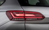 Volkswagen Touareg 2020 UK first drive review - rear lights