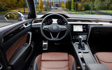 Volkswagen Arteon Shooting Brake eHybrid 2020 first drive review - cabin