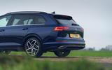 5 VW Golf Estate 2021 UK FD rear end