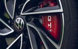 5 VW Golf GTI Clubsport 2021 UK first drive review brake calipers