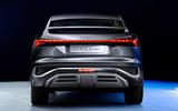 Audi Q4 E-tron - static rear