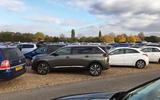 Peugeot 5008 in a car park