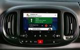 Fiat 500L UConnect infotainment system