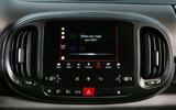 Fiat 500L infotainment system