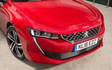Peugeot 508 front detail