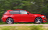 BMW 1 Series - tracking side