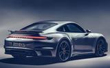 Porsche 911 Turbo S 2020 official images - rear