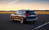52 BMW X3 2021 LCI official static rear