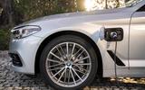 BMW 530e charging port