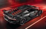 Lamborghini SC18 concept - rear top