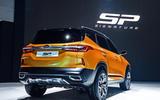 Kia SP Signature concept SUV - rear