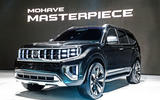 Kia Mohave Masterpiece concept SUV - front