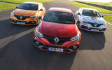 Renaultsport history picture special - current Renaultsport Megane RS range