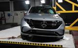 Mercedes-Benz EQC Euro NCAP crash test - front