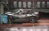 BMW Z4 Euro NCAP crash test - side