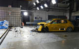 Euro NCAP crash test October 2019 - Peugeot 208