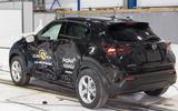 Euro NCAP crash tests - 2020 Nissan Juke