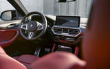 56 BMW X4 2021 LCI official cabin