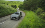 56 PHEV wagons triple test 2021 508 on road front