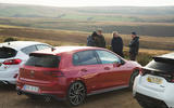 Britain's best affordable drivers car 2020 - VW Golf GTI - reportage rear