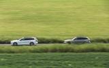 57 PHEV wagons triple test 2021 tracking side pair