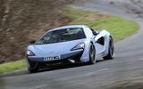 McLaren 570S Track Pack cornering