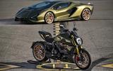 2020 Lamborghini Sian and Ducati Diavel 1260