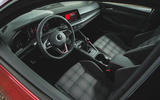 Britain's best affordable drivers car 2020 - VW Golf GTI - interior