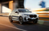 59 BMW X4 2021 LCI official tracking front