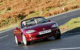 Mazda MX-5 2003 - tracking front