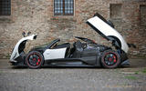 Pagani Zonda - stationary side