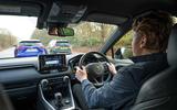 Richard Lane driving Toyota RAV4