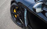 Porsche Taycan 2020 first drive review - front wheels