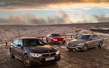 BMW 5 Series vs Mercedes-Benz E-Class vs Jaguar XF