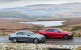 BMW 5 Series vs Mercedes-Benz E-Class vs Jaguar XF - group test