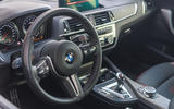 AC Schnitzer ACS2 Sport 2019 first drive review - steering wheel