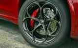 Alfa Romeo Stelvio Quadrifoglio 2020 UK first drive review - alloy wheels