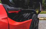 Aston Martin DBS Superleggera 2018 first drive review quarter panel aero