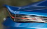 Aston Martin Vantage manual 2019 first drive review - rear lights
