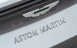 Aston Martin Vantage Roadster 2020 UK first drive review - rear badge