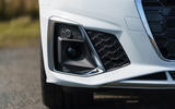 Audi A5 Coupe 2020 UK first drive review - front bumper