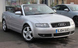 Audi A6 Cabriolet - static front